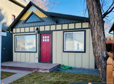 Denver Single Family Home Active: 262 Galapago Street