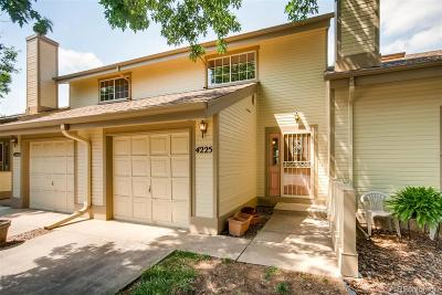 Wheat Ridge Condo/Townhouse Under Contract: 4225 Owens Street