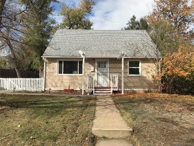 Denver CO Single Family Home Active: $329,900