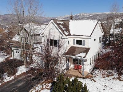 Steamboat Springs CO Single Family Home Under Contract: $589,500