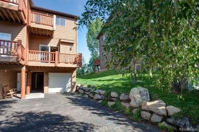 Steamboat Springs Condo/Townhouse Under Contract: 483 Eaglepointe Court #4