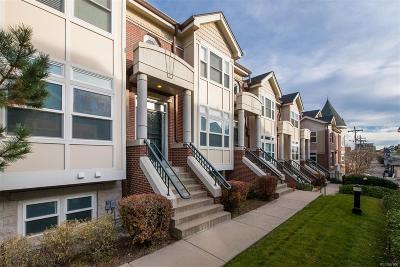 Cherry Creek Condo/Townhouse Under Contract: 3735 East Ellsworth Avenue #D