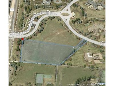 Arapahoe County Residential Lots & Land Active: 17 Cherry Hills Park Drive