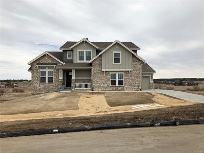Franktown Single Family Home Sold: 9750 Hurlingham Loop