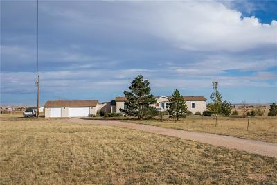 Peyton Single Family Home Under Contract: 5145 Log Road
