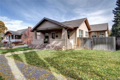 Denver Single Family Home Under Contract: 2660 Glencoe Street