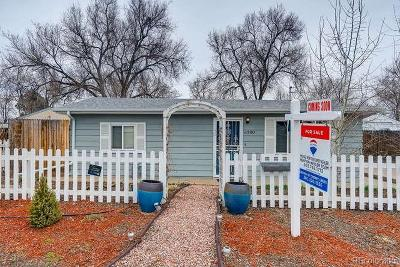 Arvada Single Family Home Under Contract: 6380 Tennyson Street