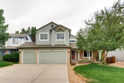 Littleton Single Family Home Active: 9023 West Coco Drive