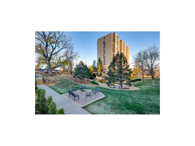 Condo/Townhouse Sold: 7865 East Mississippi Avenue #106