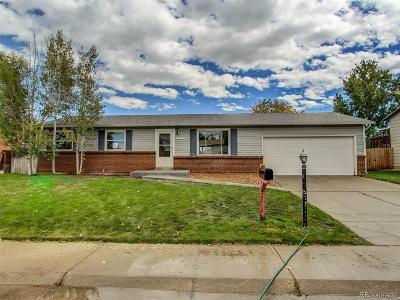 Arvada Single Family Home Under Contract: 7068 Xenon Court