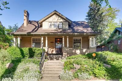 Denver Single Family Home Active: 2539 Albion Street