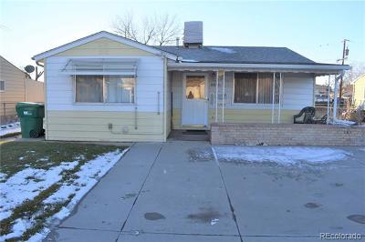 Commerce City Single Family Home Active: 6655 Clermont Street