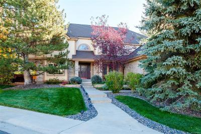Highlands Ranch Single Family Home Under Contract: 2191 Terraridge Drive