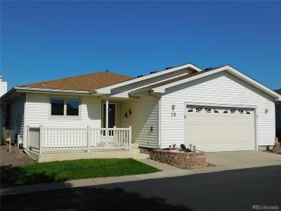 Broomfield Single Family Home Under Contract: 18 North Carla Circle