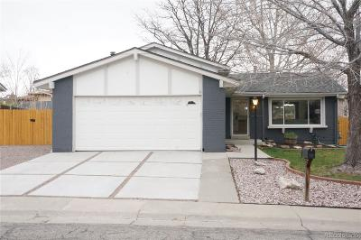 Arvada Single Family Home Active: 8314 Allison Court