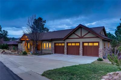 Castle Rock Single Family Home Active: 2398 Oak Vista Court
