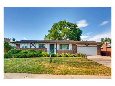 Northglenn Single Family Home Under Contract: 268 Belford Drive