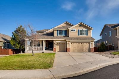 Castle Rock Single Family Home Active: 7198 Calcite Court