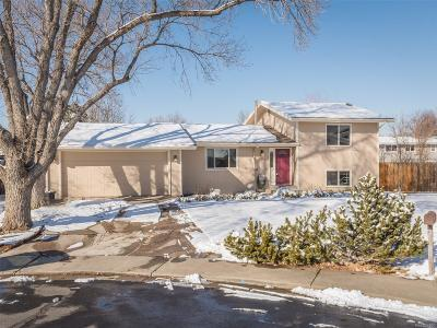 Broomfield Single Family Home Under Contract: 13110 Julian Court