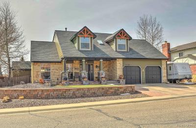Arvada Single Family Home Under Contract: 14380 West 71st Avenue