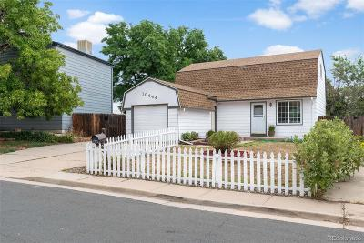 Westminster Single Family Home Active: 10444 Independence Circle
