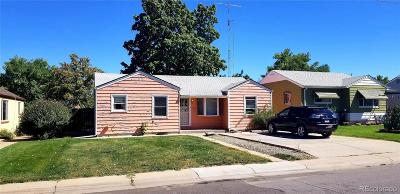 Denver Single Family Home Active: 4760 Clayton Street