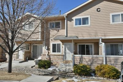 Longmont Condo/Townhouse Under Contract: 1601 Great Western Drive #C8