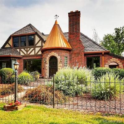 Denver Single Family Home Active: 4400 West 17th Avenue
