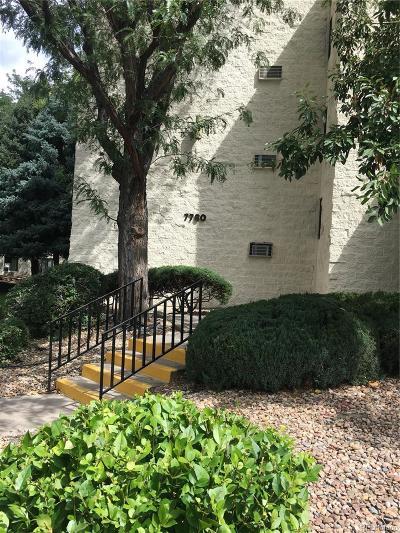Wheat Ridge Condo/Townhouse Under Contract: 7780 West 38th Avenue #105