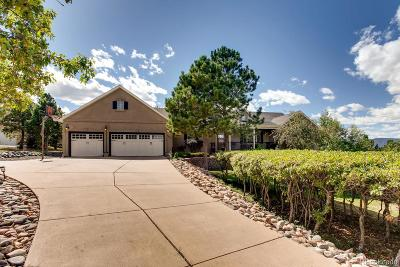 Monument Single Family Home Under Contract: 1575 Outrider Way