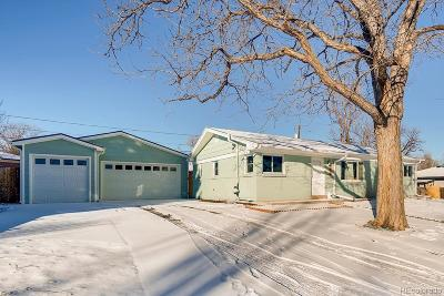 Wheat Ridge Single Family Home Under Contract: 4135 Ingalls Street