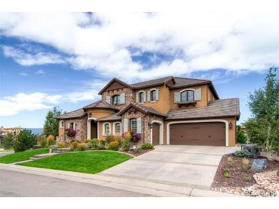 Highlands Ranch Single Family Home Under Contract: 10699 Flowerburst Court