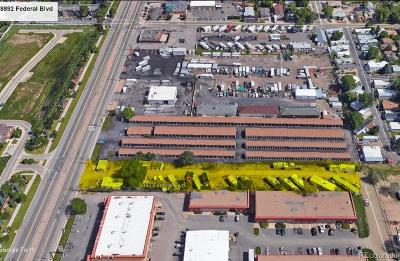 Adams County Residential Lots & Land Active: 8892 Federal Boulevard