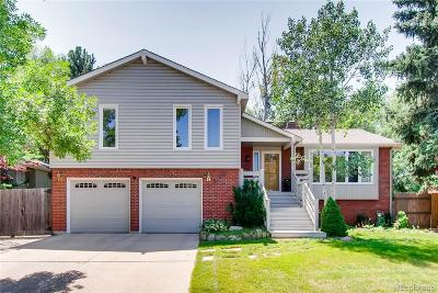 Boulder Single Family Home Under Contract: 5198 Ellsworth Place