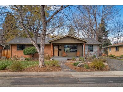 Boulder Single Family Home Under Contract: 115 South 33rd Street