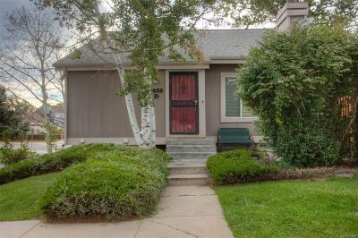 Aurora Single Family Home Active: 3833 South Genoa Circle #D