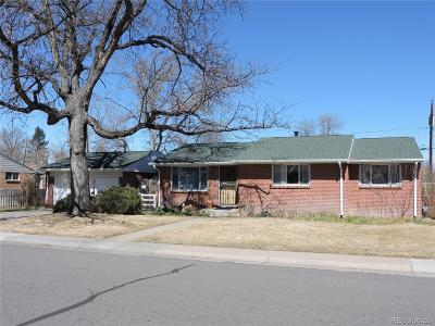 Arapahoe County Single Family Home Active: 2179 West Pineridge Avenue
