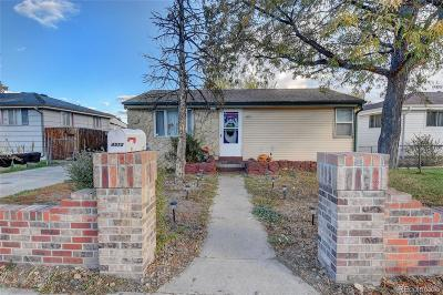 Denver Single Family Home Active: 4515 West Gill Place