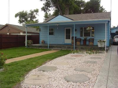 Greeley Single Family Home Under Contract: 608 24th Street