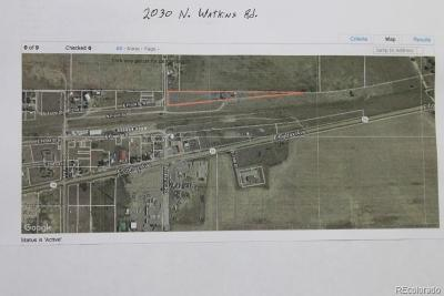 Adams County Residential Lots & Land Under Contract: 2030 North Watkins Road