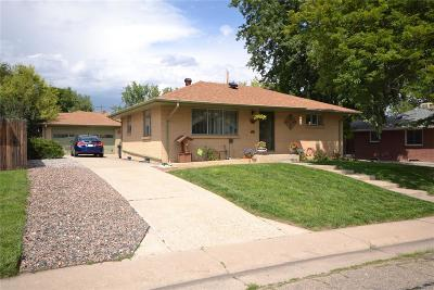 Arvada Single Family Home Active: 7233 West 67th Place