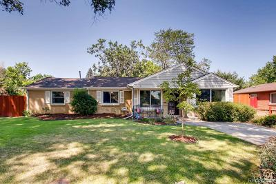 Arvada Single Family Home Under Contract: 5445 Dudley Court