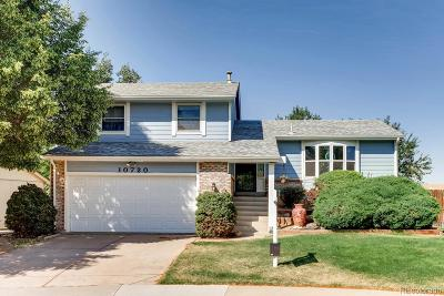 Littleton Single Family Home Active: 10720 West Berry Drive
