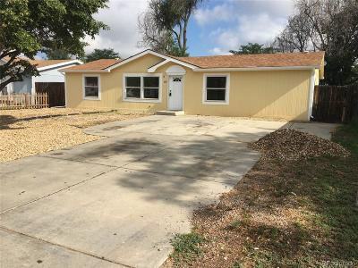 Fort Lupton Single Family Home Under Contract: 1101 Lantern Drive