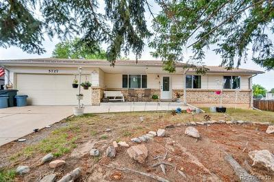 Littleton Single Family Home Active: 5727 West Ken Caryl Place
