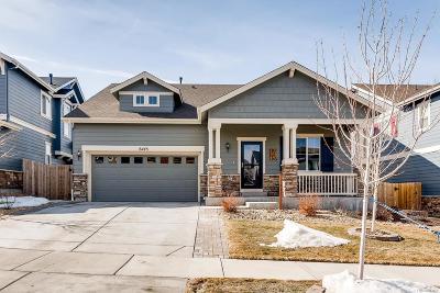 Aurora Single Family Home Active: 6445 South Harvest Street
