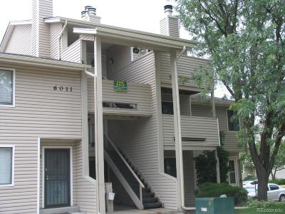 Arvada Condo/Townhouse Under Contract: 6011 Yarrow Street #D