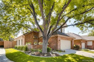 Denver Single Family Home Active: 4565 East Mexico Avenue #12