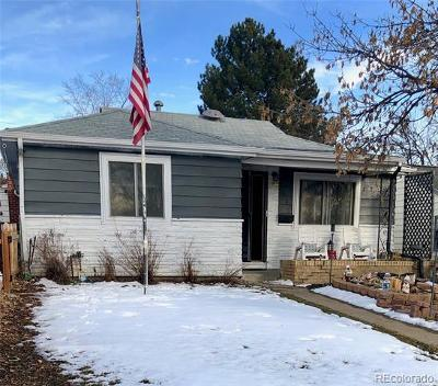 Wheat Ridge Single Family Home Active: 2690 Gray Street