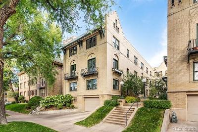 Denver Condo/Townhouse Active: 960 North Sherman Street #3A